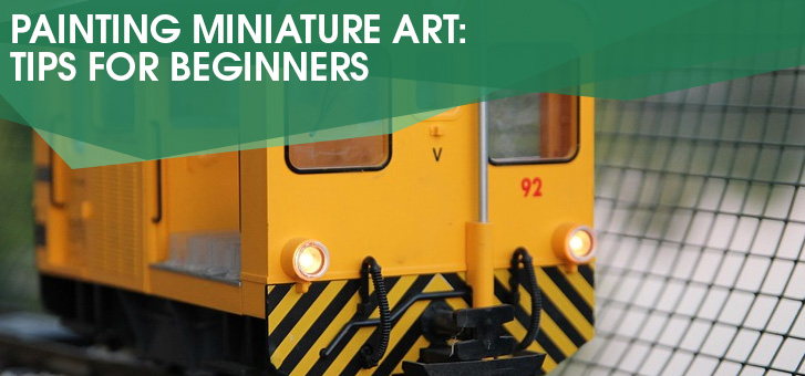Painting Miniature Art: Tips for Beginners